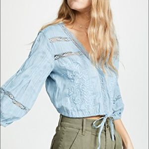 Free People Follow Your Heart blouse